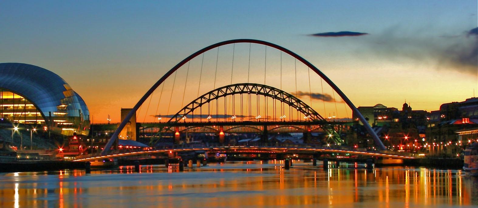 NewcastleGateshead Bridges